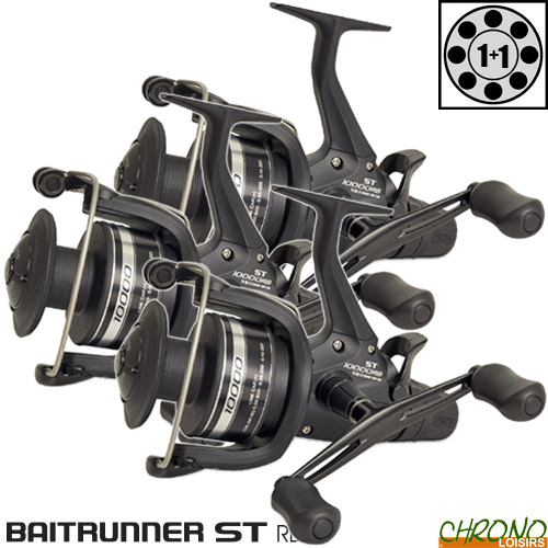 1BB baitrunner st rb pêche à la carpe moulinet-gamme 5-6-9000 SérMN 13
