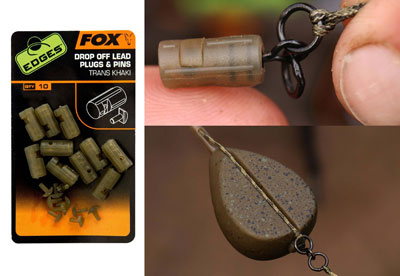 Fox Edges Big Bore Drop Off Inline Lead Kit-Large//carp fishing